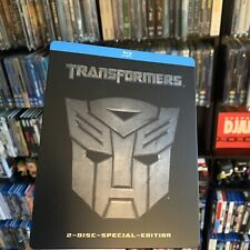 Transformers (1st Edition German Exclusive) 2 Disc Blu-Ray Steelbook