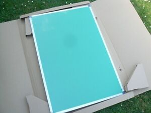 A Pair Of Brand New Aluminum Framed Green Felt Board With FREE P+P