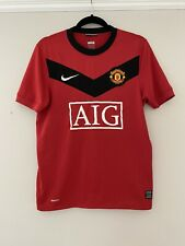 2009-10 Manchester United Home Shirt - Small -*Rooney 10 On Back*