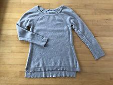 ATHLETA 100% Cashmere Boatneck Oatmeal Tunic Sweater