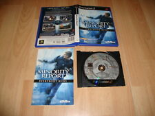 MINORITY REPORT EVERYBODY RUNS DE ACTIVISION PARA LA SONY PS2 USADO COMPLETO
