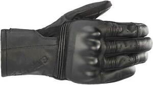 Alpinestars Gareth Gloves - Motorcycle Street Bike Riding Leather Touch Screen