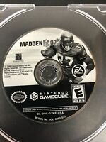 Madden NFL 07 (Game Only) Nintendo GameCube Fast Shipping