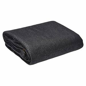 AmazonCommercial Heavy Duty Black Knitted Mesh Tarp 20 x 20ft 1-Pack