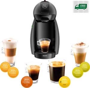 Krups Nescafe Dolce Gusto Piccolo Coffee Espresso Cappuccino Machine - Gray New!