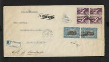 URUGUAY CNA AIR MAIL COVER ROCHA MONTEVIDEO 1926