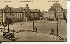 Ansichtskarten vor 1914 aus Sachsen mit dem Thema Straßenbahn