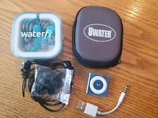 Underwater audio Waterproof 2G iPod Shuffle A1373 Ice Blue + WaterFi Bundle