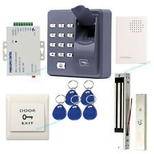 Fingerprint RFID Card Door Entry Access Control System with 280kg Magnetic lock