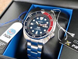 Seiko Turtle Prospex PADI SRPA21K1 Pepsi Bezel Blue Dial Automatic Diver's Watch