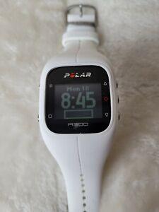 Polar A300 White Digital GPS Fitness Tracker Smart Watch