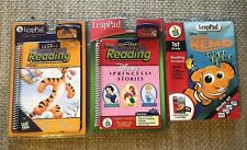 New Bounce Tigger Finding Nemo Disney Princess LeapPad Reading Learning System