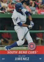 2016 South Bend Cubs team SET issued RC of Eloy Jimenez White Sox Prospect!