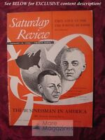 Saturday Review January 19 1952 LEO CHERNE LEWIS GALANTIERE ELMO ROPER