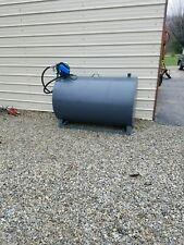 300 Gallon Fuel Tank Transfer Storage Gas Oil Diesel Biodiesel Farm Construction
