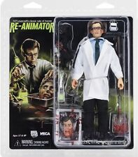 "Re-Animator Herbert West (8"" Clothed Action Figure) horror toy collectible, NECA"