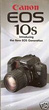 Camera Brochure - Canon - EOS-10S - 1990 (CB08)