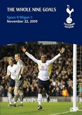 As New! The Whole Nine Goals - Tottenham Hotspur Vs Wigan Multi-region DVD Spurs