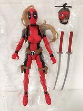 IN STOCK! NEW Marvel Legends Wave 2 Lady Deadpool + HEADPOOL *NO SAURON BAF