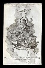 santino incisione1700 MARIA IMMACOLATA   klauber