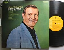 Country Lp Eddy Arnold Songs Of The Young World On Rca