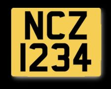 private Plate - Honda Motocompo Ncz 50cc[NCZ 1234 ] Z50 Honda DAX Mini Bike