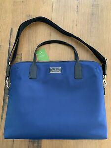 NWT Kate Spade Daveney Blake Avenue Oceanic Blue Laptop Computer Messenger Bag