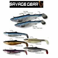 Savage Gear 3D Herring Big Shad Saltwater Soft Lure 25cm 35 cm Various Colours
