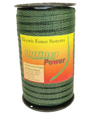 -OPTIMA- Profesional Electric Fencing Tape - 20mm - 250 meter Roll - GREEN