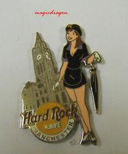 Hard Rock Cafe MANCHESTER Girl of Rock Pin .