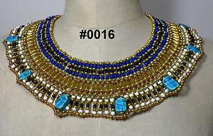 Egyptian Egipto Египет Ägypten Queen Cleopatra style Pharaoh's Necklace/Collar