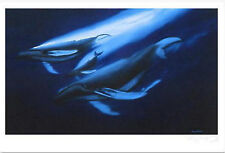 """WYLAND """"SEAS ALIVE""""  AP S/N LITHOGRAPH WITH COA"""