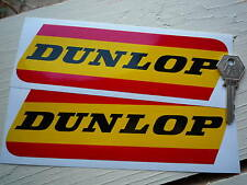 Classic DUNLOP red/yellow  Race & Rally Car Stickers.