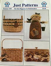4 Basket Weaving Patterns Just Patterns Magazine Summer 1999