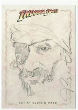Indiana Jones Heritage Topps Sketch Card by Joseph Booth 1/1