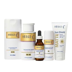 Obagi Medical Obagi-C Fx System, Normal to Oily Skin, 5 Piece System, Pack of 1