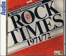 Audio Rock Times vol. 9 1971-72 CD Various AUDIOPHILE