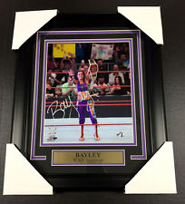 BAYLEY WWE WWF FRAMED 8x10 PHOTO AUTOGRAPHED SIGNED AUTHENTIC SIGNATURE