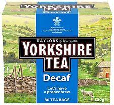 Yorkshire Tea Decaffeinated Tea Bags 250 g  Pack of 5