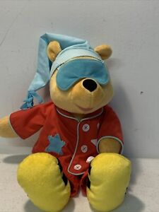 "Fisher Price 16"" Sing 'n Snore Animated Plush Bedtime WINNIE THE POOH 95976"