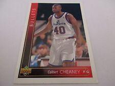 Carte NBA UPPER DECK 1993-94 #354 Calbert Cheaney Washington Bullets