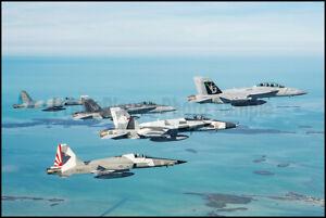 EA-18G VAQ-209 F-18s VFA-204 VFC-12 F-5Ns VFC-111 VFC13 2021 8x12 Aircraft Photo