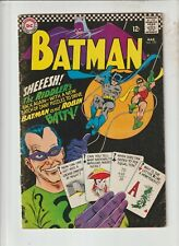 BATMAN #179 VG 1966  2nd Silver Age Appearance of Riddler