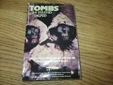 Tombs of the Blind Dead Original 1986 Paragon Big Box VHS Play tested