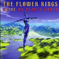 THE FLOWER KINGS 'ALIVE ON PLANET EARTH' 2 CD NEW