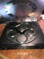 1990 Sansui 5 CD Compact Disc Auto Changer Model CD-3100M Remote Control