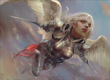 50 Angel Cards lot collection with rares MTG Magic the gathering White CNY