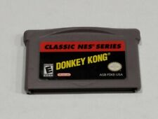 Donkey Kong Classic NES Series Game Boy Advance