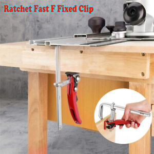 Quick Guide Rail Clamp Carpenter F Clamp Clamping for MFT and Guide Rail System