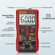 Digital Multimeter Meter Amp Ohm Voltmeter Auto/Manual Volt DC Range AC M7E5